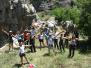 Climbing Rappelling at Balaa 10-06-2012