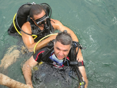 Diving at Safra 29-06-2013