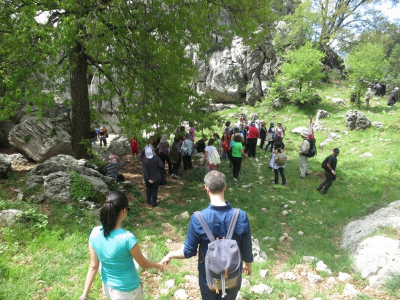 Jabal Moussa Hike 21-04-2014