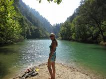 Jannet Chowen Hike - Swim 24-08-2014