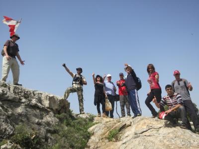 Mazraet Et Teffah Hike 01-04-2013